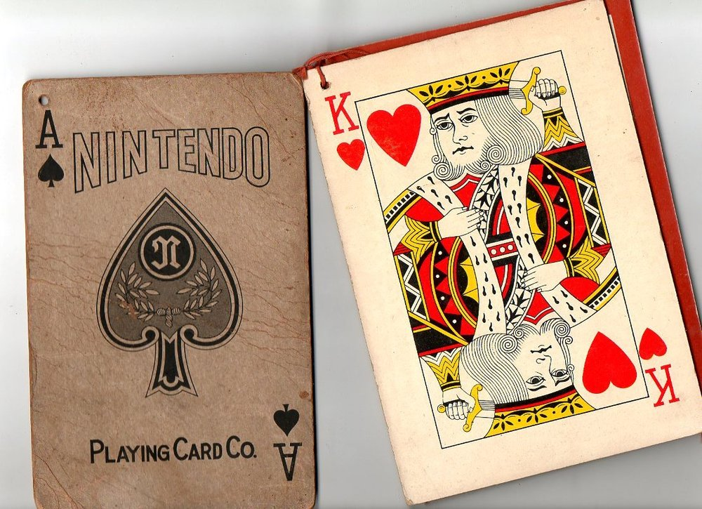 Image result for nintendo playing cards