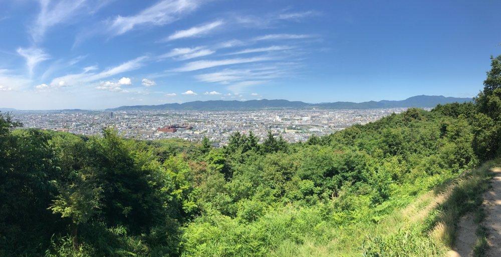 kyoto summer sky