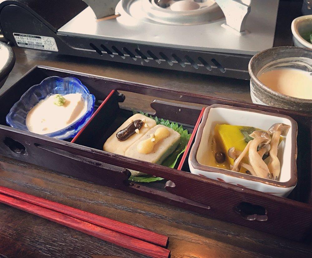 matsugae appetizer kyotours