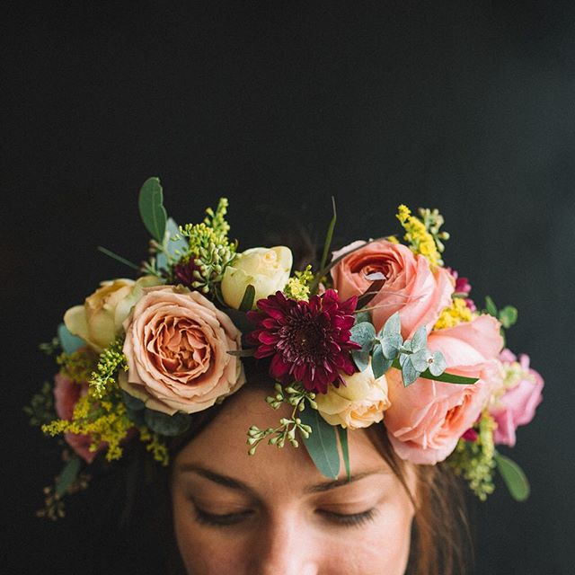 Mission de Flores - Flower Crown | San Francisco Wedding Florist
