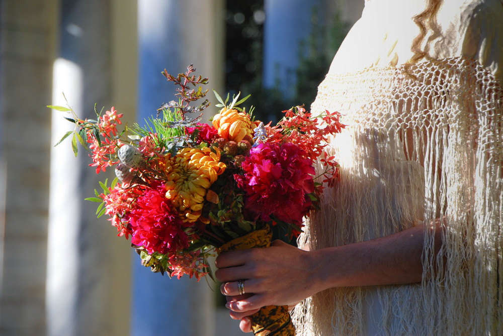 Mission de Flores | Autumn Wedding Floral Design, San Francisco