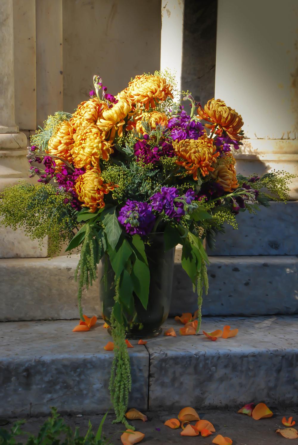 Mission de Flores | Autumn Wedding Floral Design, San Francisco