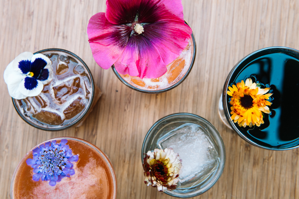 missiondeflores.com | Floral Summer Cocktails by The Front Porch SF