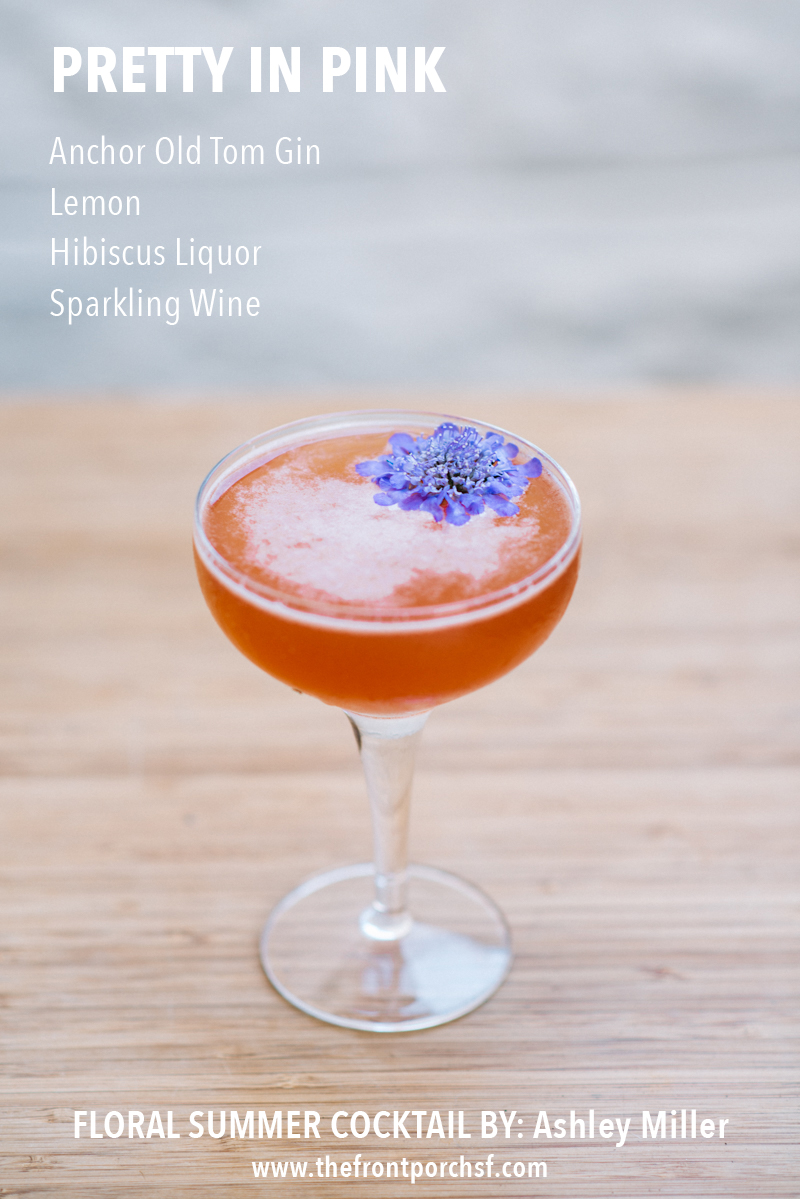MISSION DE FLORES | Floral Inspired Cocktails by The Front Porch SF