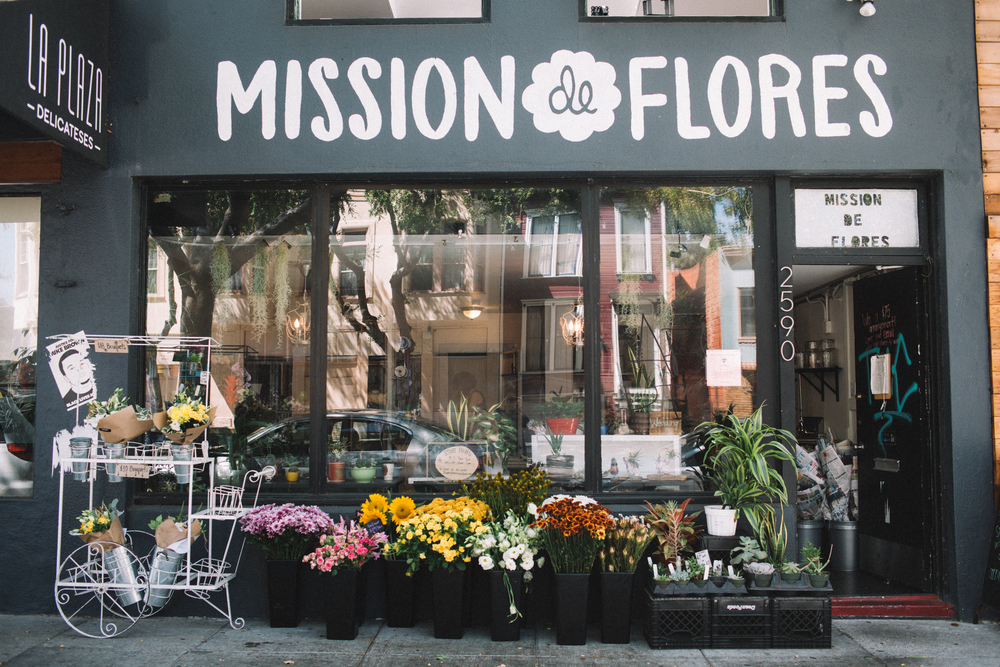 Mission de Flores | San Francisco Flower Shop