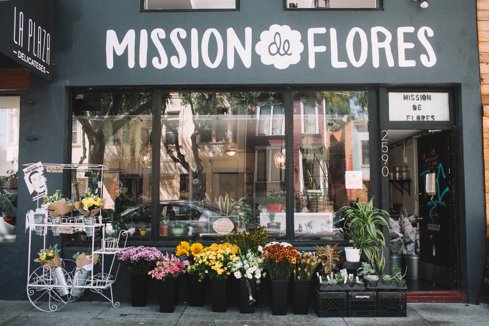 Mission de Flores   San Francisco Flower Shop