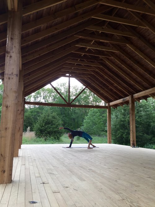 Sugar Creek Retreat - Yoga Pavilion