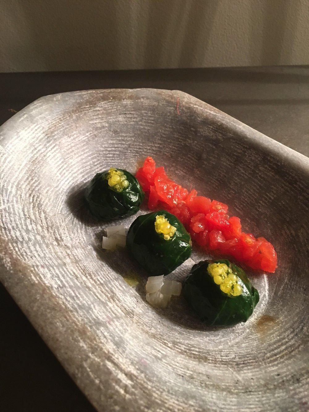 Otro de los platos aprendidos en la Escuela de Cocina Hofmann