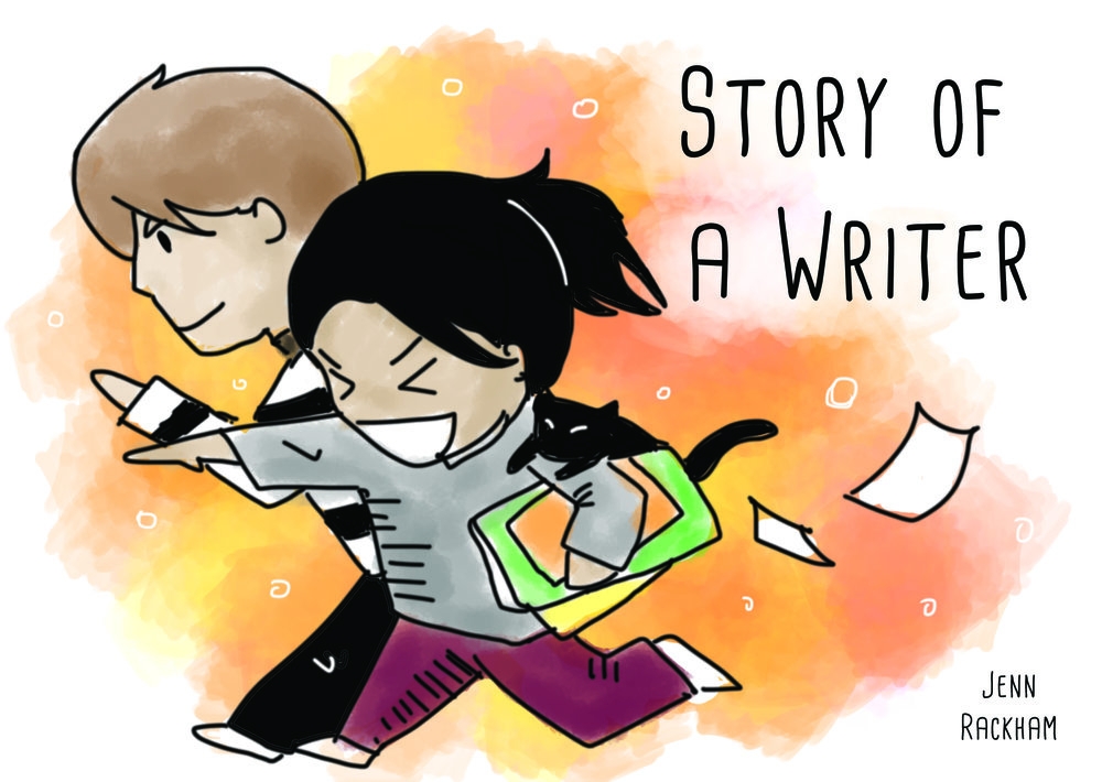 Story of a Writer  - A webcomic based on Jenn's experience as a writer/illustrator and some on Rory's as a game designer.