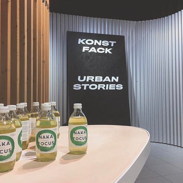 Today we are hanging out at Stockholm Furniture & Light Fair together with Konstfack - Urban Stories. Come by and check it out! #nakafocus #energydrink #greentea #stockholmsmässan #stockholmfurniturefair #konstfack