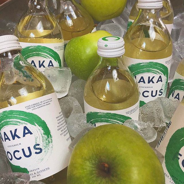 "Hello students! This is the last week that you can grab a Naka Focus for only 19kr with the Studentkortet app. So if you don't already have the app, download it and just use the coupon in the app next time you are getting ""fika"". #nakafocus #greentea #energydrink #studentkortet #greatdeal Photo by @prego_gavle"