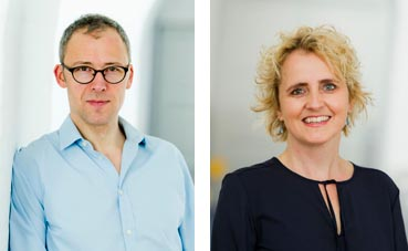 Lars Christiansen and Mette Kidal
