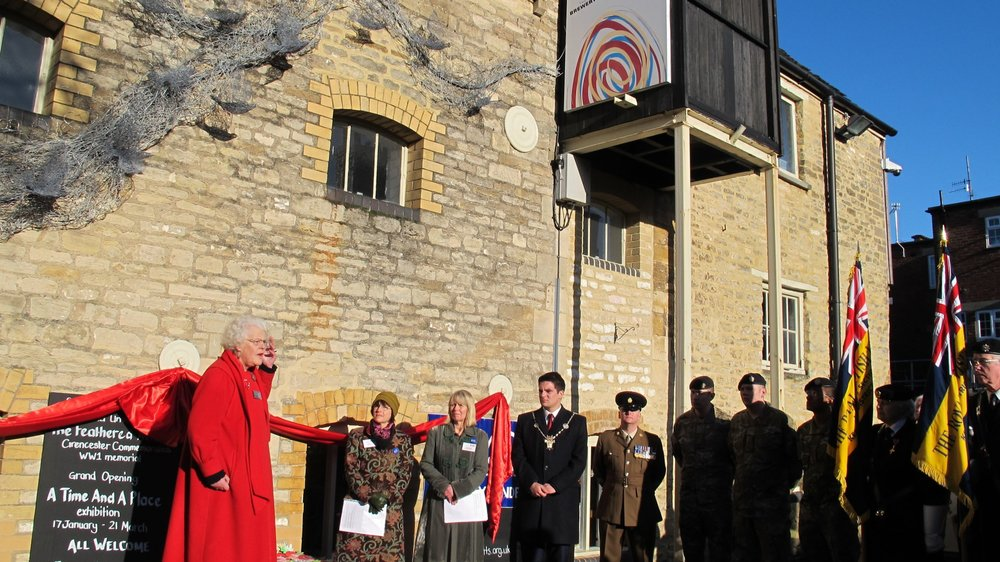 Remembrance Day ceremony 2014 at New Brewery Arts