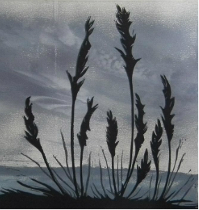 Mixed Media Dusk low res - monoprint and lino - beth jenkins.jpg