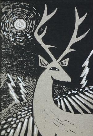 Beth Jenkins Xmas Printmaking 300 x 400.jpg