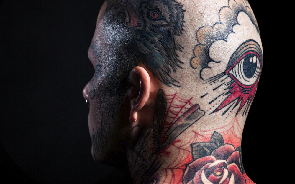 tattoo neck