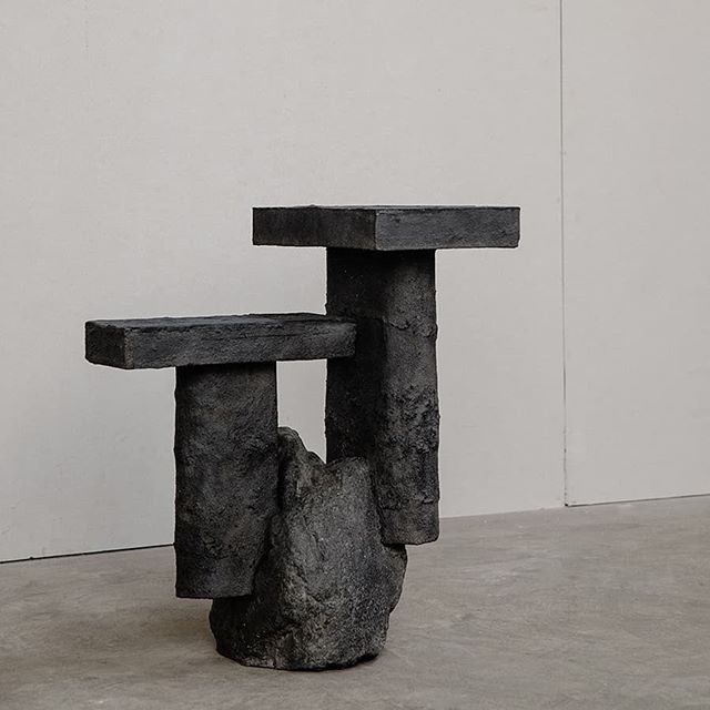 Human Element - Excavation 5 - 50 x 70 x 65 cm - Granite, Hydrostone - 2018 - on show @munkeruphus.dk in Munkerup, Denamrk until 8.26  @reformdesignbiennale @_sightunseen_ . . . . . #reformdesignbiennale #design #experiemntal #sightunseen #art #sculpture #artdesign #contemporaryart #contemporarysculpture #newaesthetic