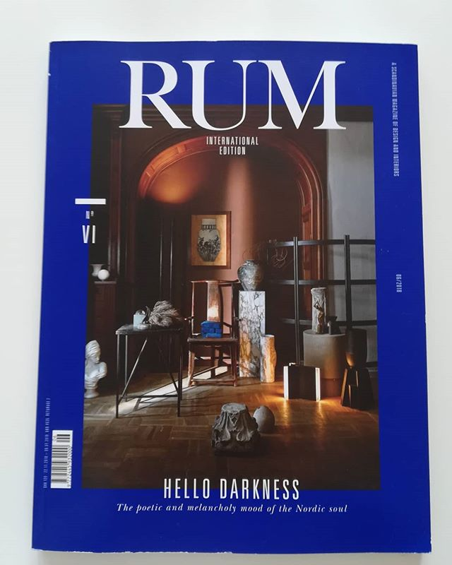 Finally got my hands on this November edition of @rum_id magazine that features 'Excavation 5' from the Human Element series. It is very rewarding to have my work featured next to greats like @formafantasma #maxlamb #richardserra and many others!
