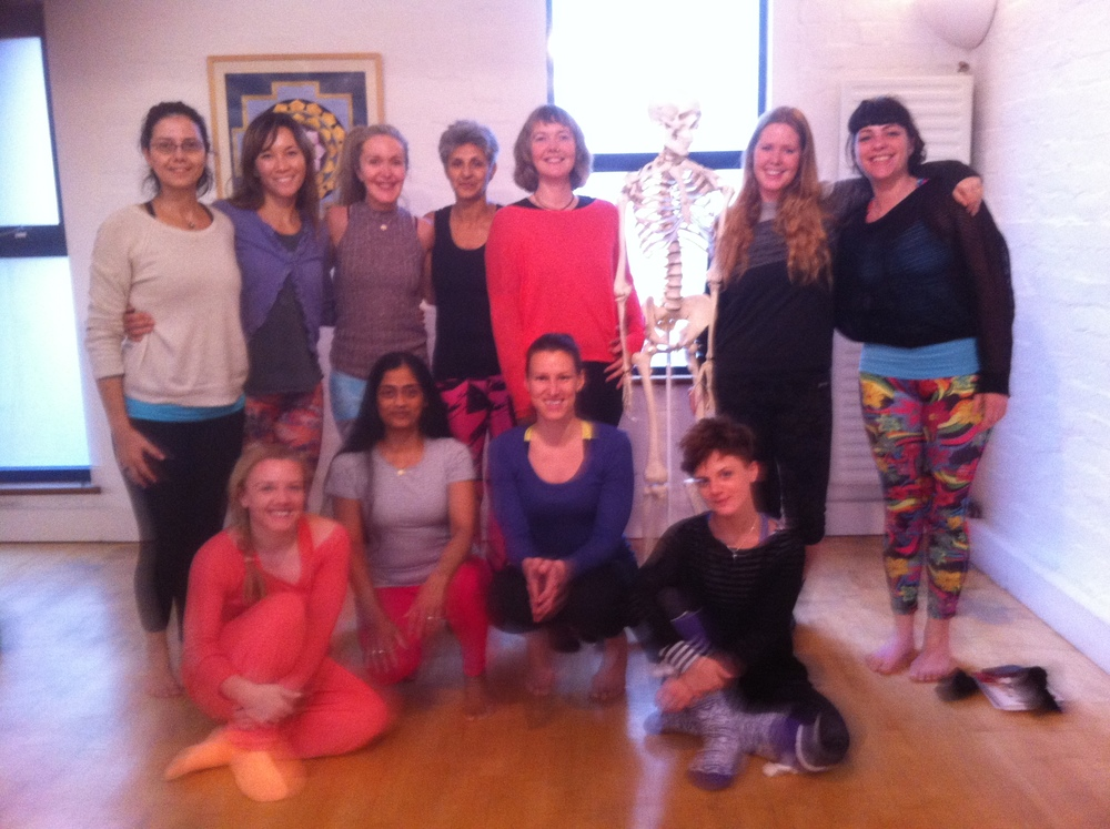 The group from the 2015 Ashtanga Intensive in Bristol.