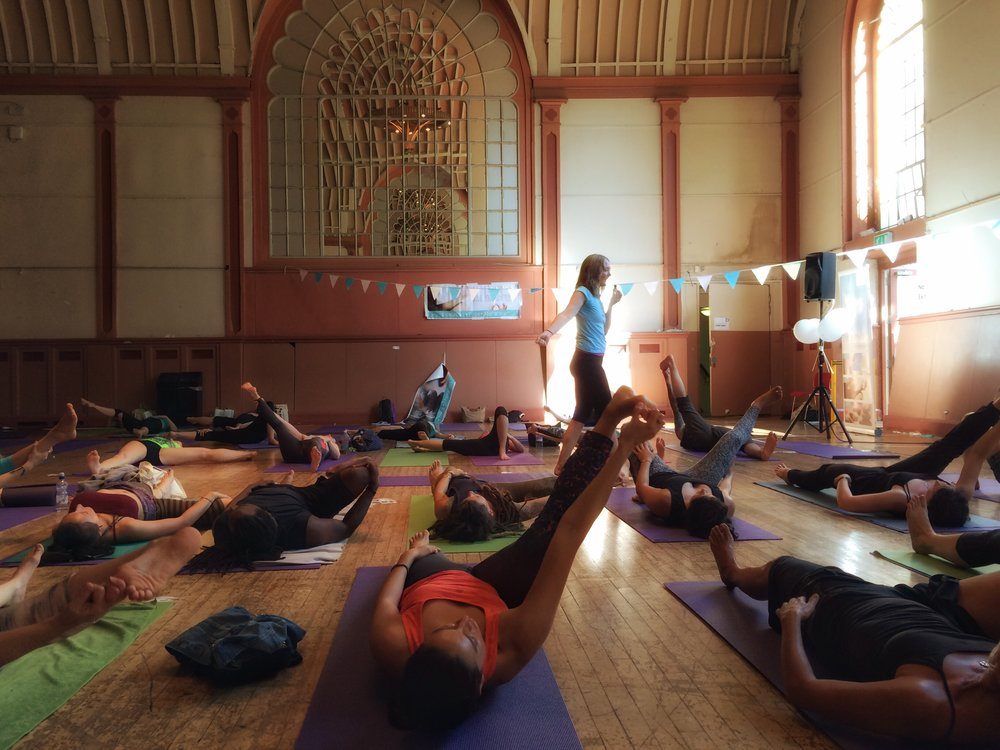 Led Primary at Brighton Yoga Festival 2016