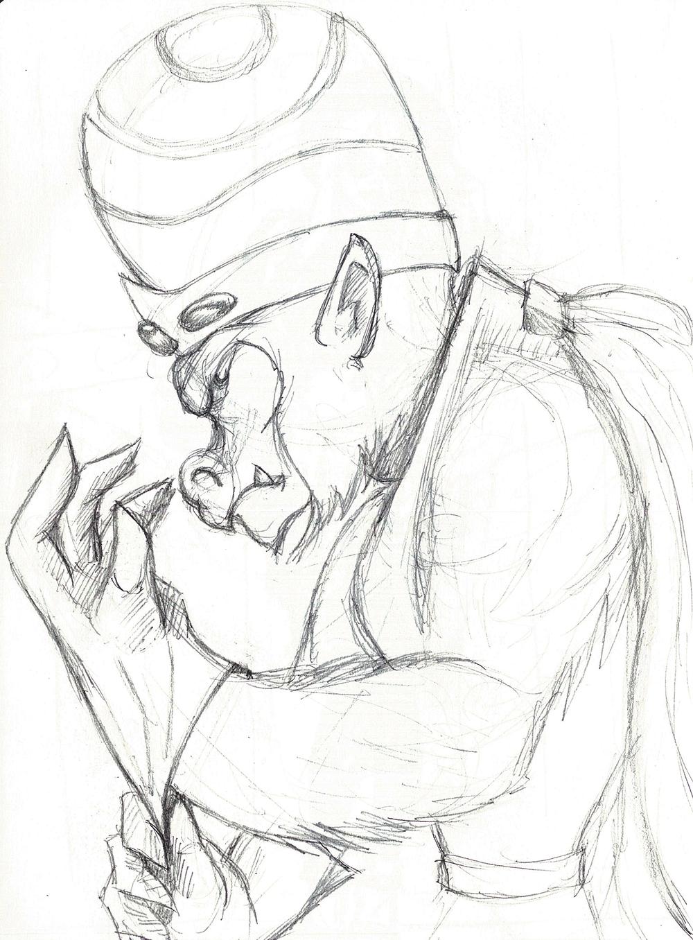 MoJo JoJo - Sketch