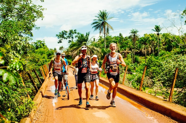 Rennen im Afrika