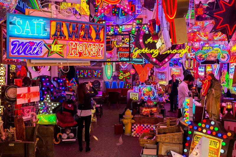 God's own junkyard - Ever visited a neon wonderland? This glowing cave of retro, vintage, signage will leave you starry eyed for sure. Unit 12, Ravenswood Industrial Estate, Shernhall St, Walthamstow, London E17 9HQOpen Fridays, Saturdays and Sundays from 11am-6pmhttp://www.godsownjunkyard.co.uk/
