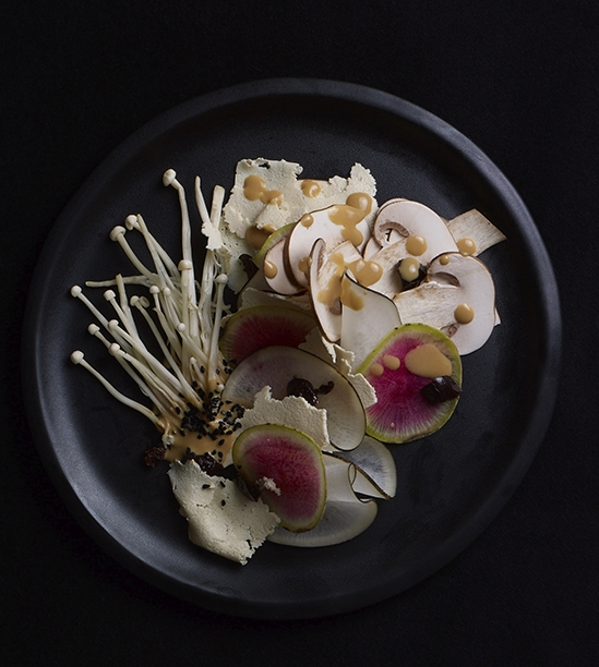 Alexandra Rowley Two Radish, Some Mushroom & Olives
