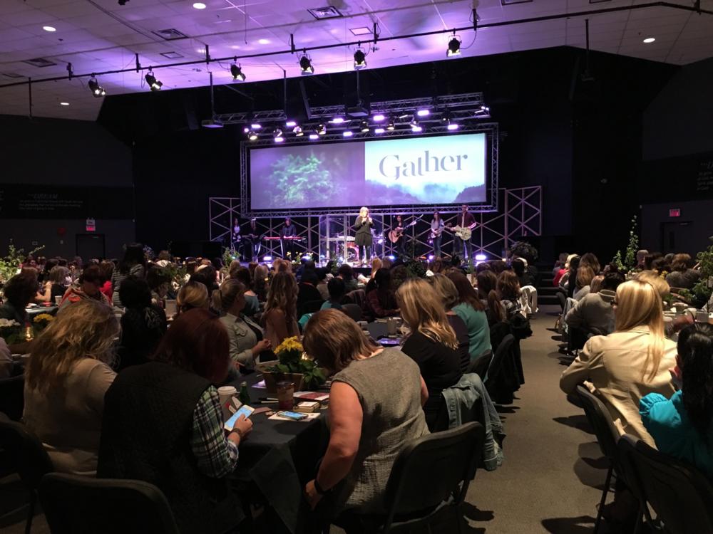 Gather Women BC, April 2016