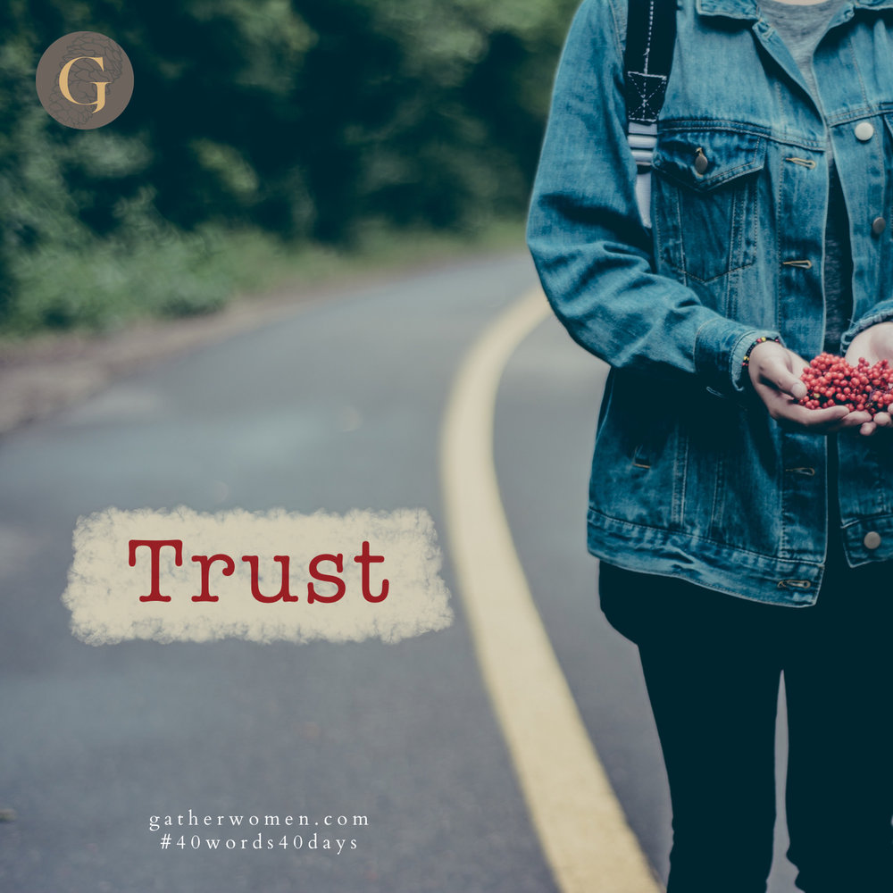 You can place your trust in God, believing He will follow through on His promises.