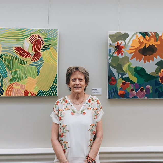 If you haven't already don't forget to check out Priscilla Bohlen's works hanging at Atria Senior Living! Here are some shots from her opening on Thursday 09/06! Exhibition runs until Oct. 11th,2018