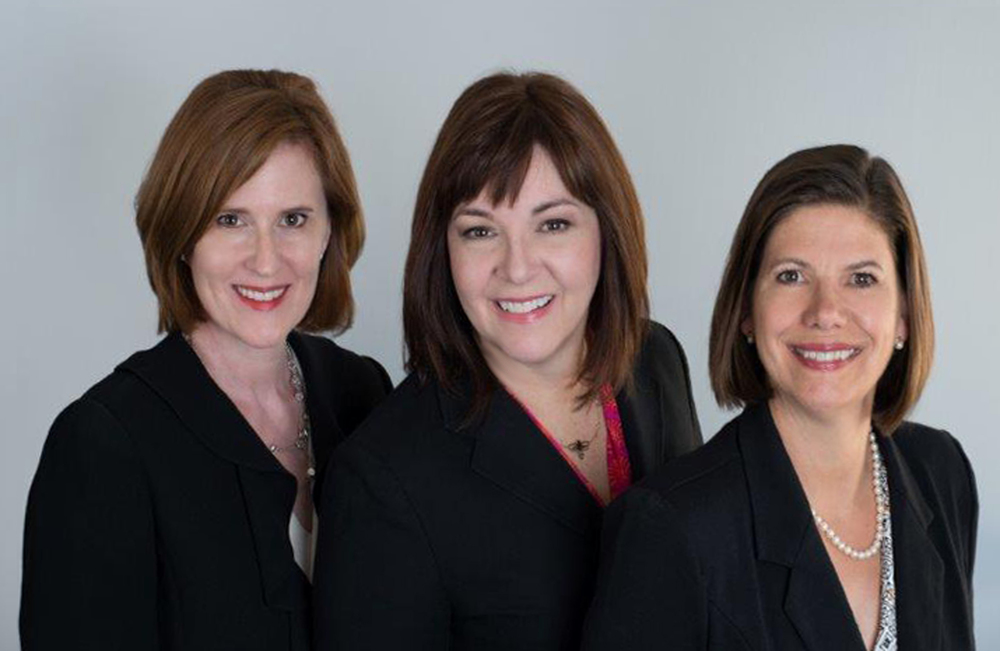 The Health Cell (co-founders Beth Eby, Brigitta Glick, and Gabriele Niederauer)