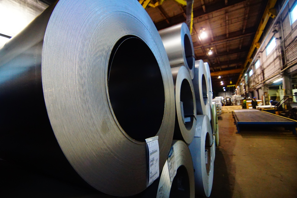 cold rolled steel, cold rolled steel blanks, cold rolled steel coil, slit coil, cold rolled slit coil, flatness critical cold rolled