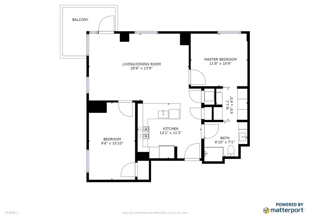 Rev. A Floorplan of 32 Traveler St, #509, Boston.png