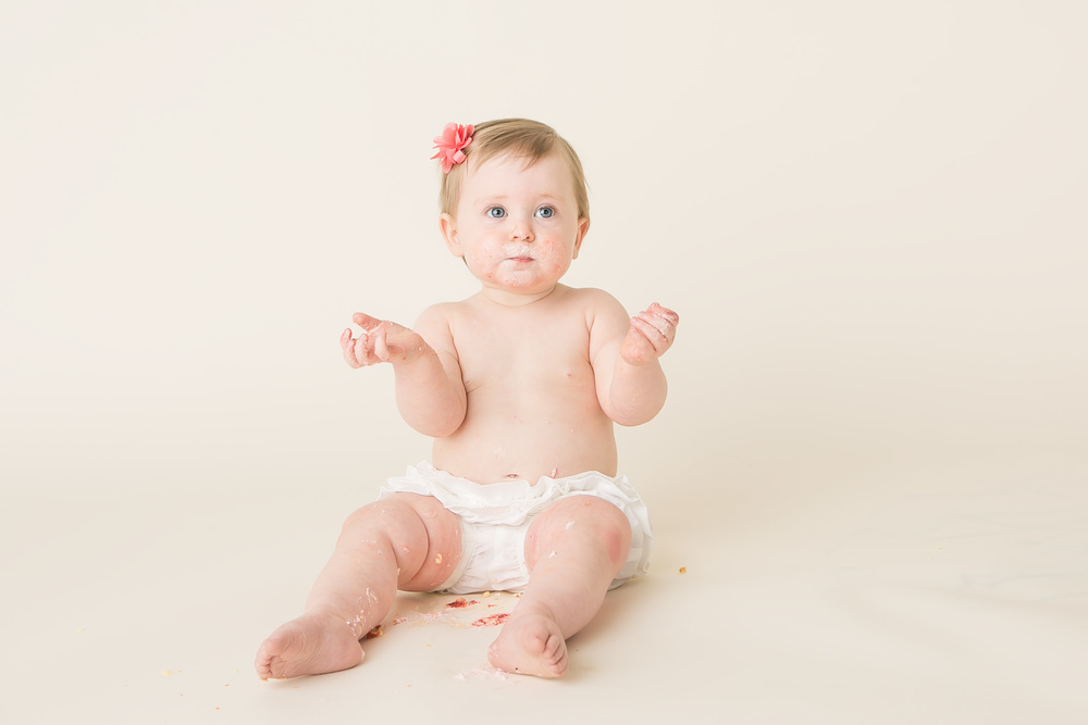 one year baby girl columbus ohio photographer jessica olms photography