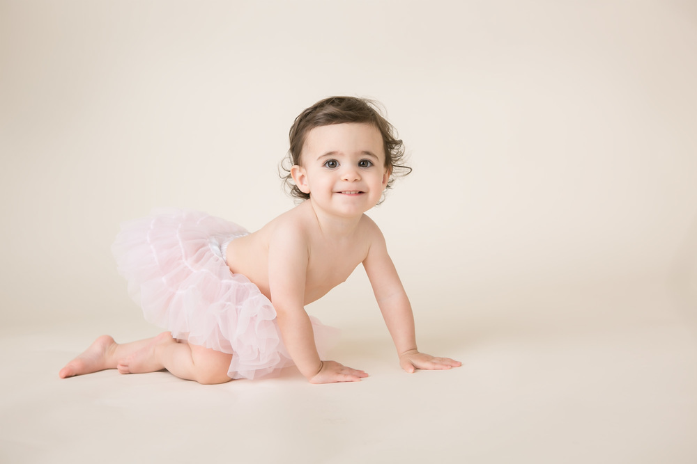 one year picture baby girl tutu columbus ohio
