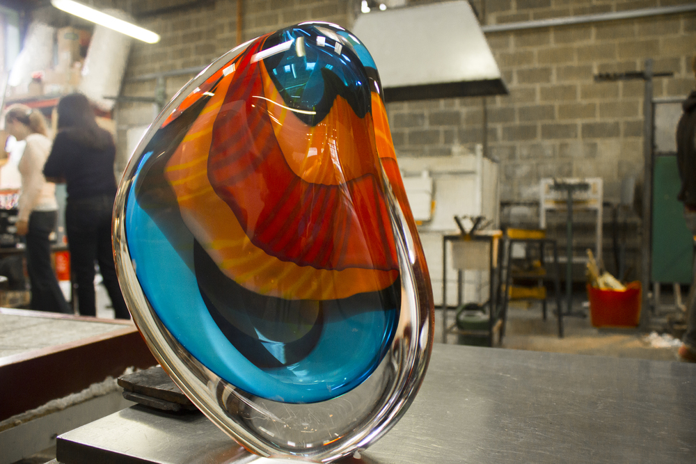 Petery Layton London Glassblowing