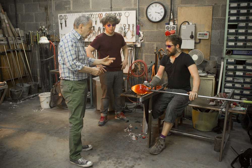 Peter Layton Glassblowing Studio