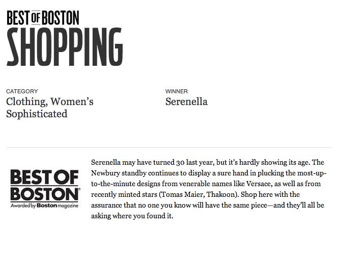 BEST OF BOSTON BOSTON MAGAZINE - 2011