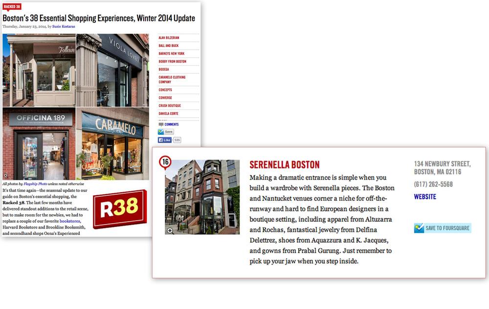 BOSTON'S 38 ESSENTIAL SHOPPING EXPERIENCES BOSTON RACKED -JANUARY 2014