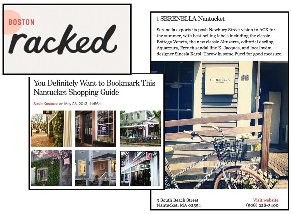 NANTUCKET SHOPPING GUIDE BOSTON RACKED - MAY 2013