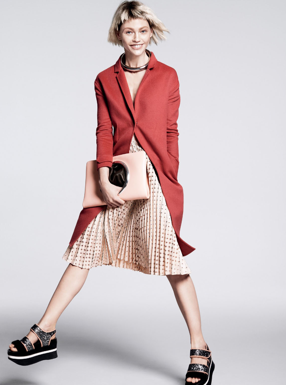We love this flirty look byMarco De Vincenzoin this month's issue ofVogue.