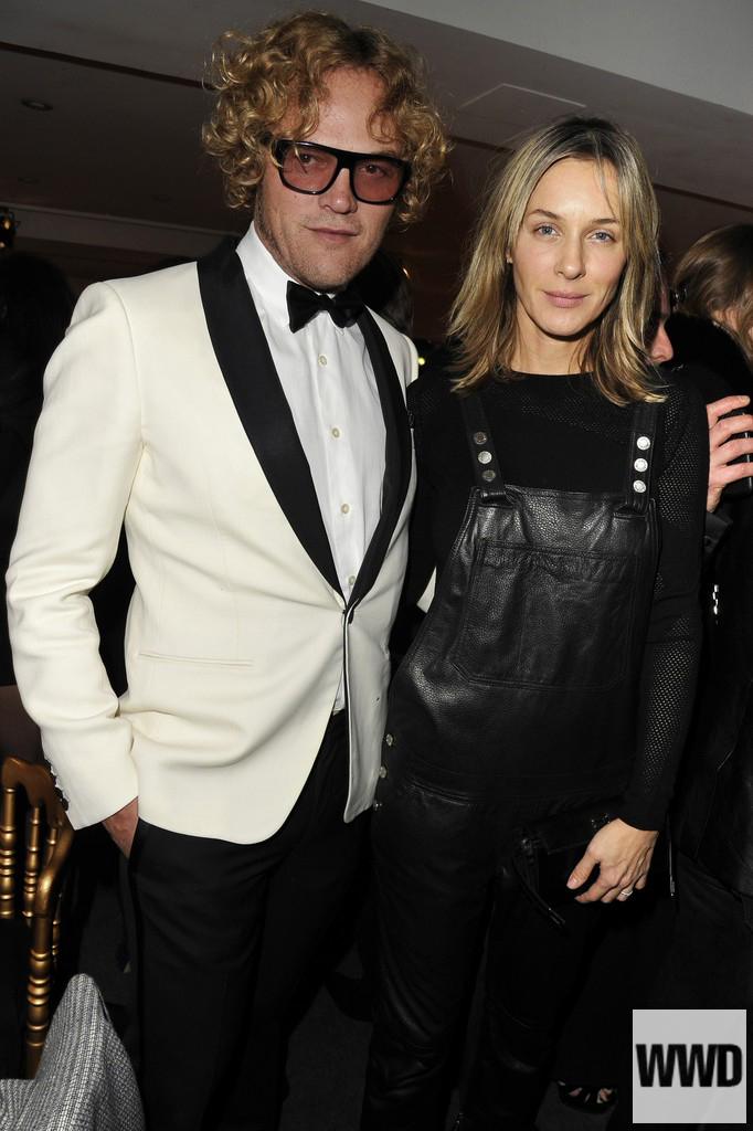 womensweardaily: Peter Dundas and Cecilia Bonstrom Photo by Dominique Maître