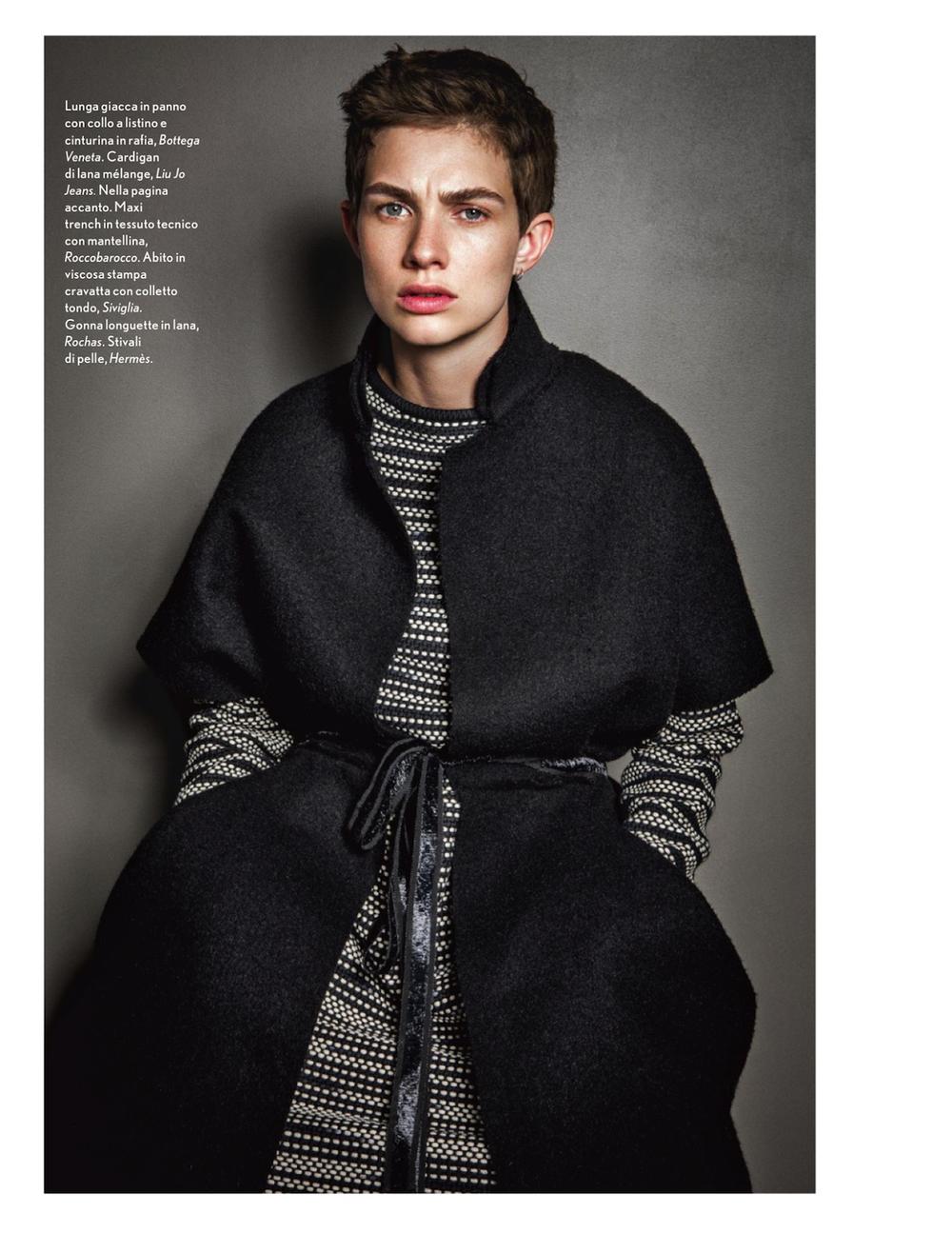 Bottega Veneta sweater in Amica magazine
