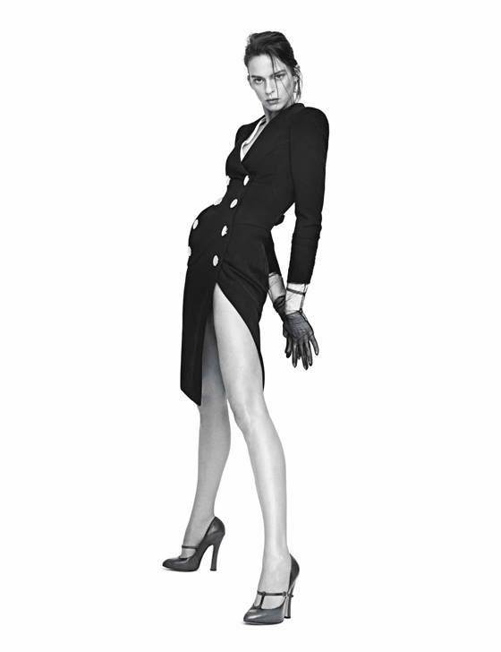 Power Play: ALTUZARRA dress shot by Willy Vanderperre for W Magazine.