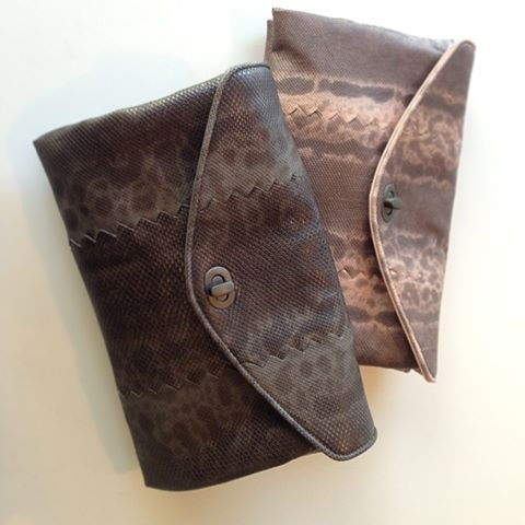 Bottega Veneta Karung clutches in Frontiere or Petale