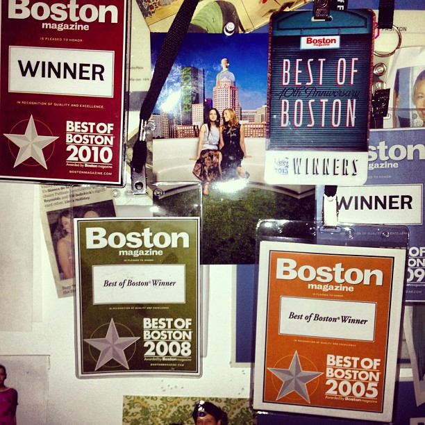 Another one for the books. Thank you @BostonMagazine for a fabulous evening last night! #BestofBoston