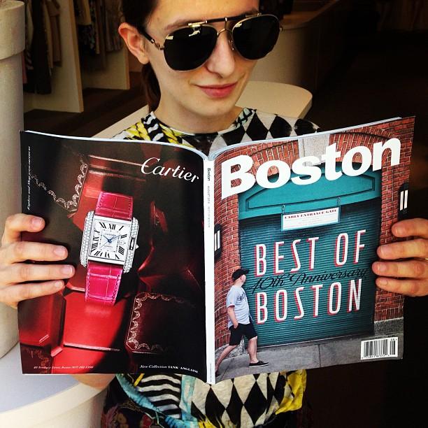 We won! Thank you @BostonMagazine for naming us Best of Boston 2013!
