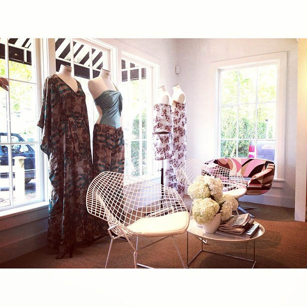 Stop by 9B South Beach Street for our exclusive @SinesiaKarol swimwear trunkshow! (at SERENELLA Nantucket)