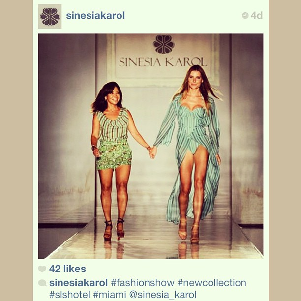 #regram @SinesiaKarol at Miami Fashion Week. We cannot wait for this weekend's trunkshow on Nantucket!
